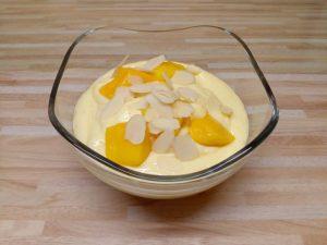 Quarkcreme mit Mango