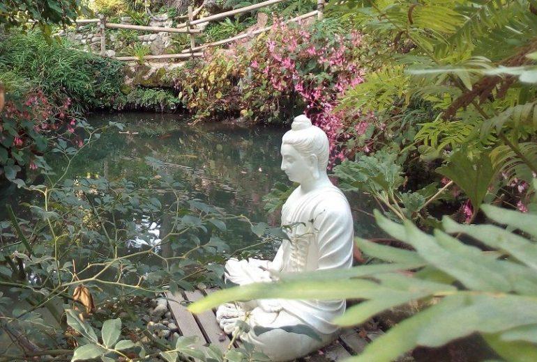 Garten von André Heller in Gardone Riviera