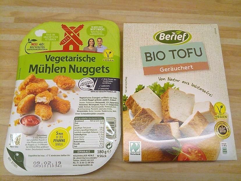 Alternativen zu Fleischprodukten