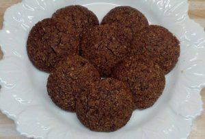 Erdnussbutter Schoko-Kekse