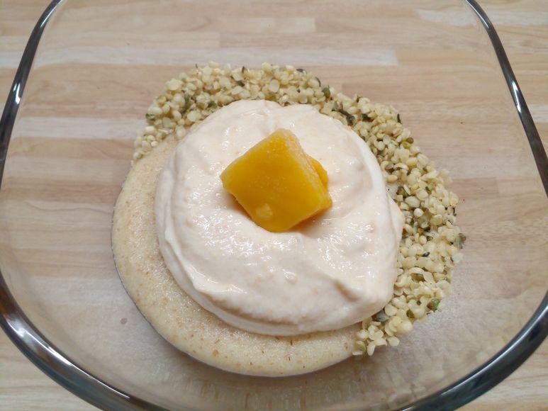 Aprikosen-Grießspeise vegetarisch - 254
