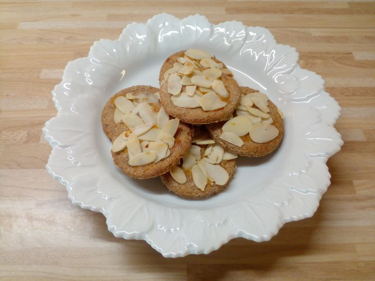 Aprikosen-Kekse vegetarisch - 253