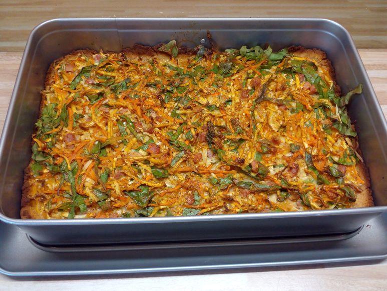 Blumenkohl-Möhren-Quiche vegetarisch - 85