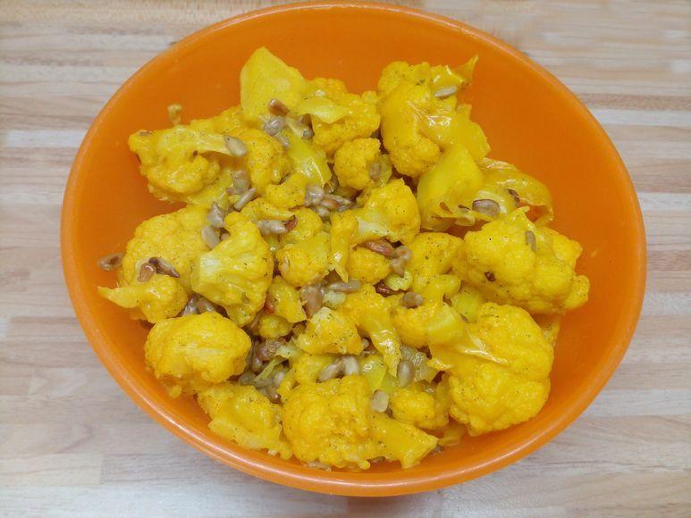 Blumenkohl-Salat vegetarisch - 168