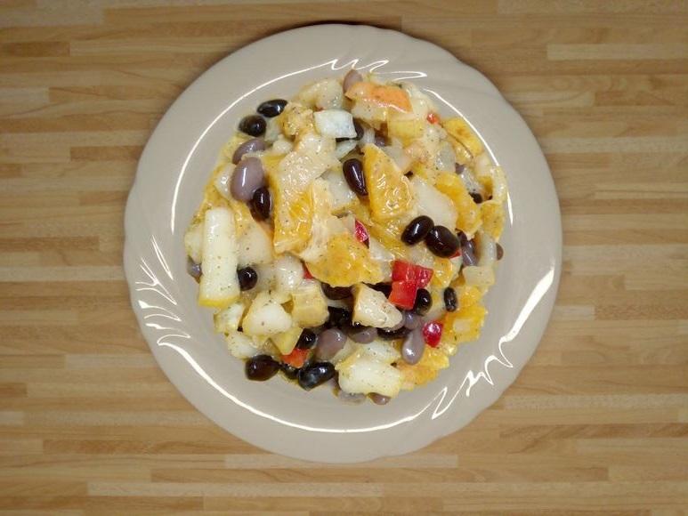 Bohnen-Orangen-Salat vegan - 169