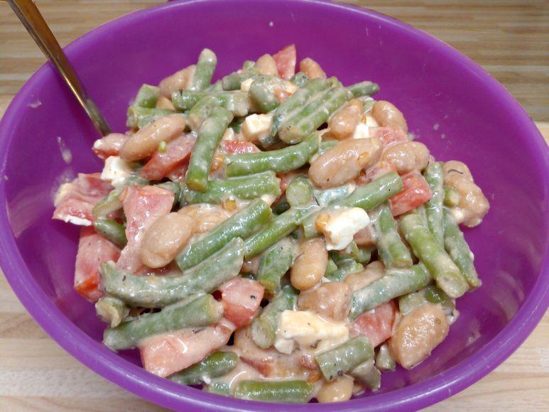 Bohnensalat vegetarisch - 170