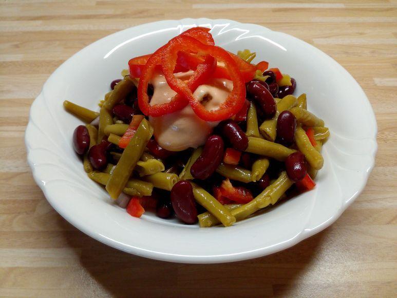 Bunter Bohnensalat vegetarisch - 172
