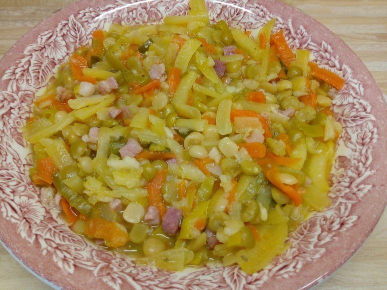 Erbseneintopf mit Kartoffeln - 223