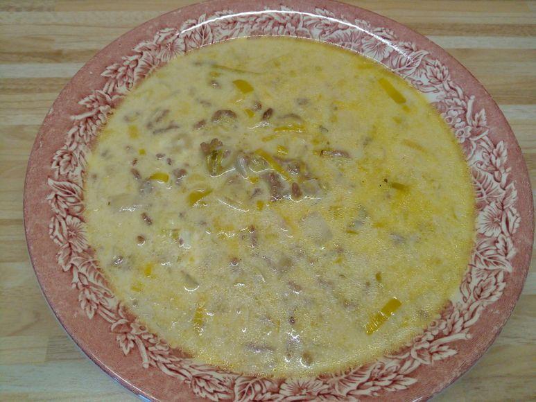 Käse-Hackfleisch-Suppe - 227