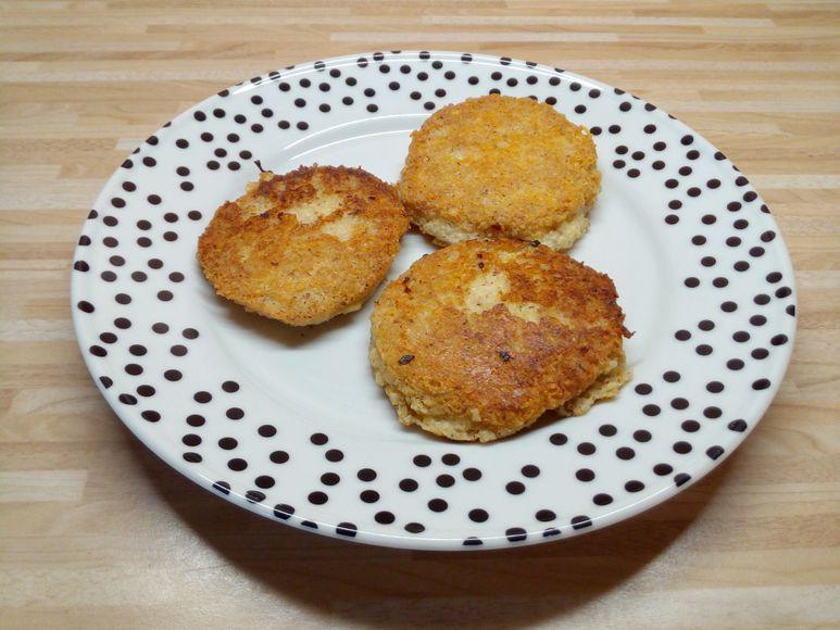 Käse-Hirse-Burger vegetarisch - 113