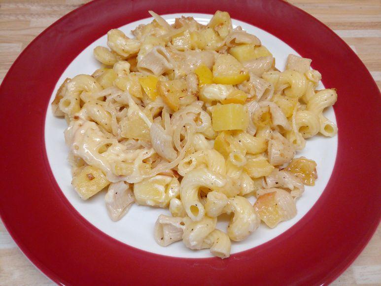Kartoffel-Nudeln aus dem Backofen vegetarisch - 115