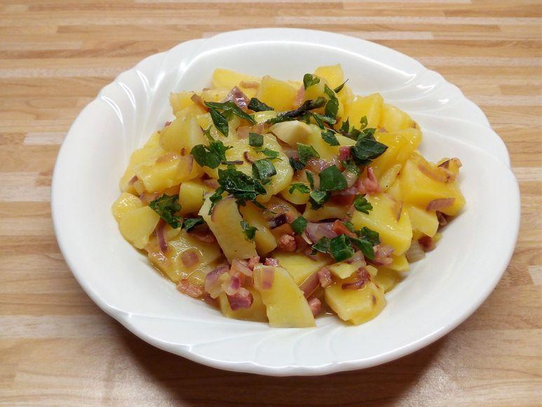 Kartoffelsalat mit Speck - 188