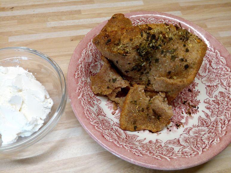 Kräuter-Brot vegetarisch - 49