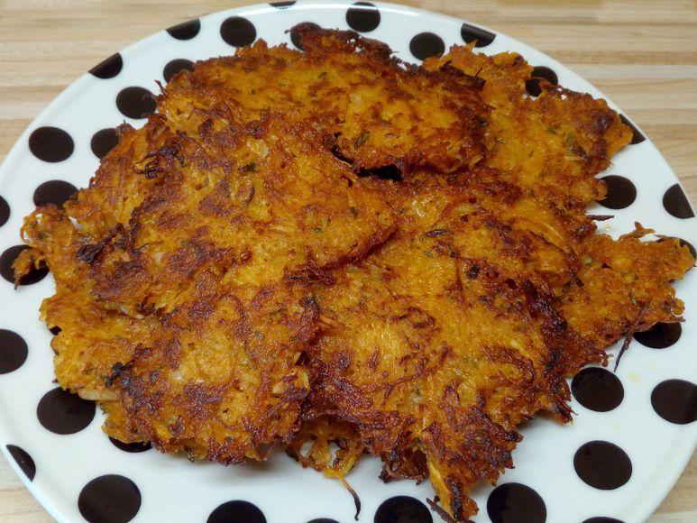 Kürbis-Rösti mit Kartoffeln vegetarisch - 121