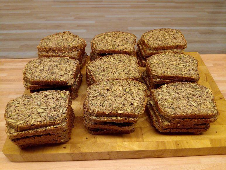 Brot ohne Getreide vegetarisch - 43