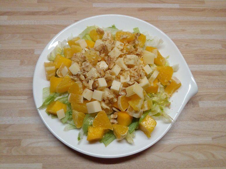 Mango-Orangen-Eisbergsalat vegetarisch - 195