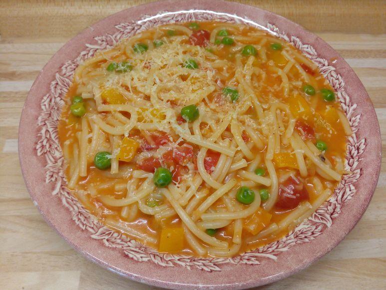 Nudel-Gemüse-Topf vegetarisch - 129