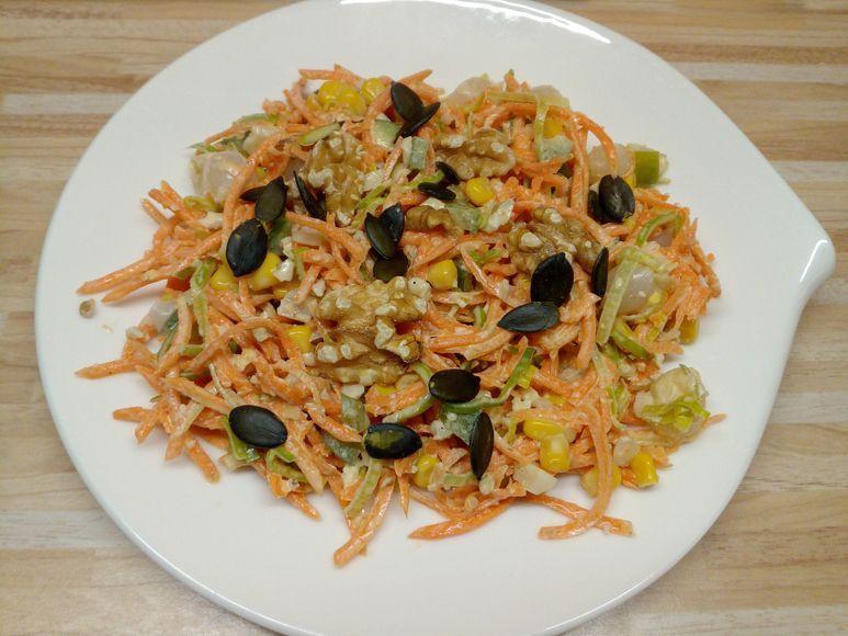 Paprika-Mais-Salat vegetarisch - 207