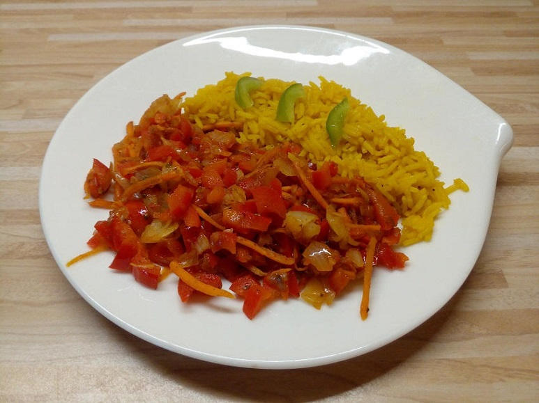 Reissalat, warm vegan - 209