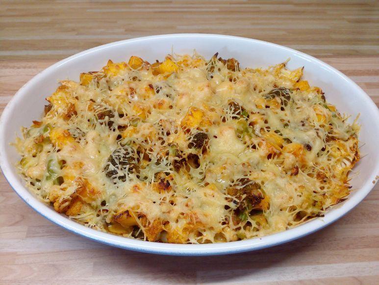 Rosenkohl-Kartoffelauflauf - 146