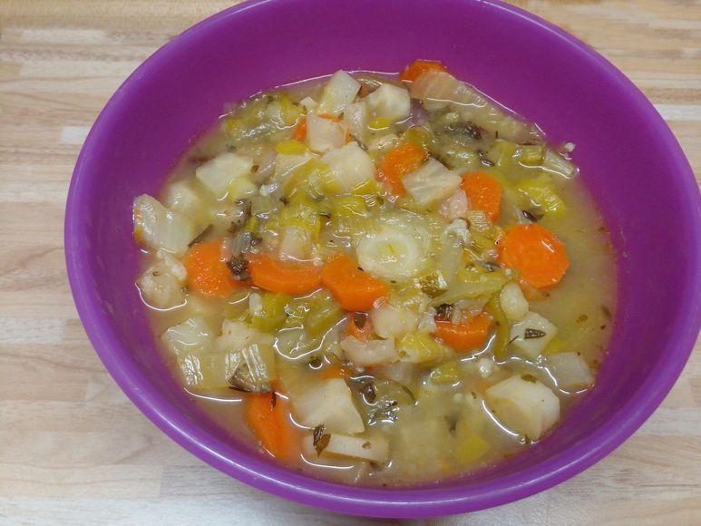 Schnelle Gemüsesuppe vegan - 236
