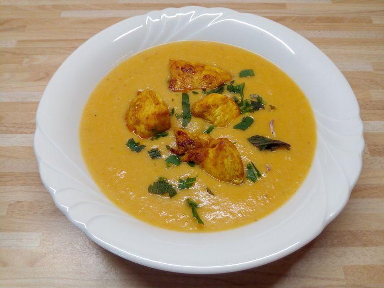 Süßkartoffel-Curry-Suppe - 238
