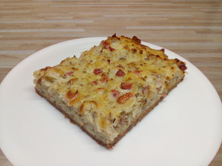 Zwiebelkuchen getreidefrei vegetarisch - 164