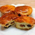Quark Muffins mit Rosinen
